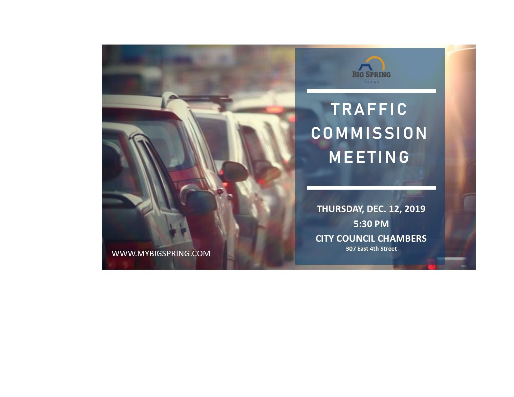 Traffic Commission Meeting 121219