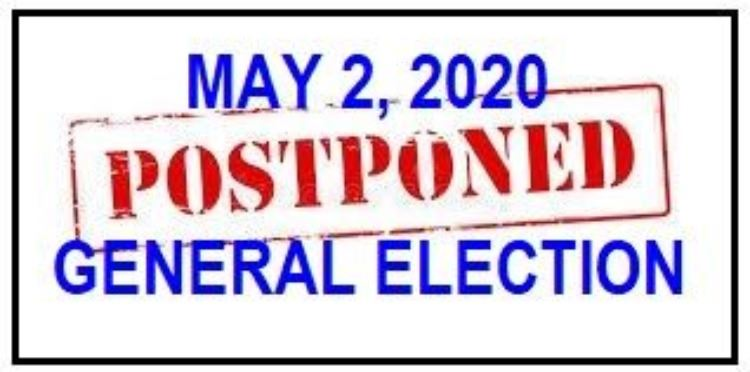 Election Postponed