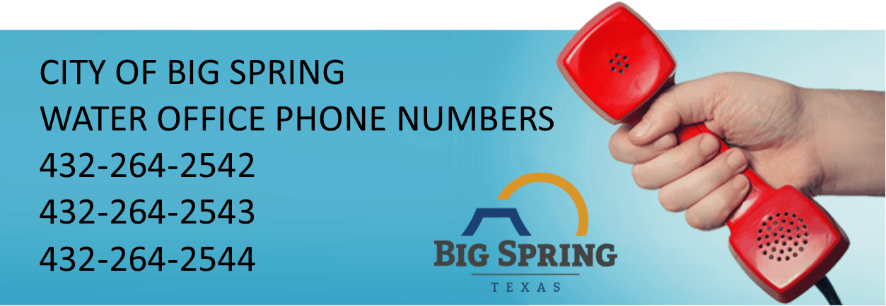 Water Office Phone Numbers 5-29-20