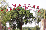 Comanche Trail Park Entrance